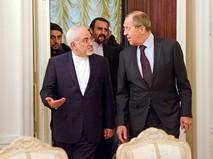 Глава МИД России Сергей Лавров и министр иностранных дел Ирана Джавад Зариф