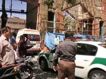 Полиция и скорая помощь в Иране