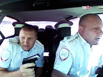 Полиция преследует грабителей в Волгограде