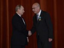 Владимир Путин и Владимир Воронков