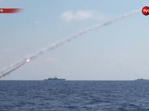 Удар ВМФ России по ИГ в Сирии