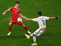 Сборная России — сборная Мексики