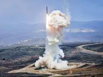 Пуск балистической ракеты в США