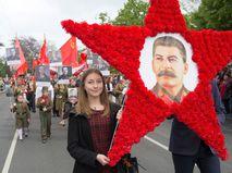 """Участники акции """"Бессмертный полк"""" в Севастополе"""