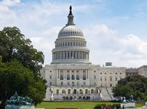 Здание Капитолия в Вашингтоне. Округ Колумбия, США