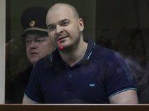 "Максим Марцинкевич ""Тесак"" в зале суда"
