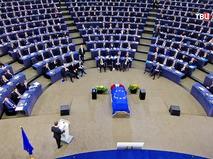 Церемония прощения с экс-канцлером ФРГ Гельмутом Колем