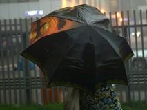 Дождь и град