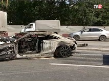 ДТП на Волоколамском шоссе