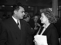 Сергей Бондарчук и Ирина Скобцева в Доме кино
