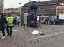 На месте происшествия в Турку, Финляндия