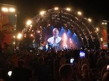 Владимир Путин во время посещения джазового фестиваля Koktebel Jazz Party 2017