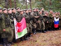 Военнослужащие России и Белоруссии