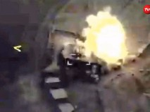 Удар по объектам ИГ в Сирии