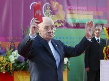 Леонид Броневой на церемонии открытия XXIX Московского международного кинофестиваля