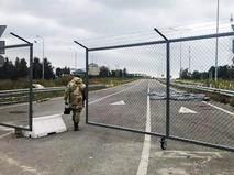 КПП на Украинской границе