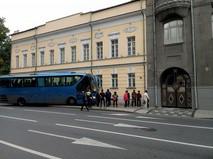 Последствия ДТП с автобусом в центре Москвы