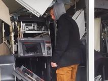 Последствия взрыва банкоматов