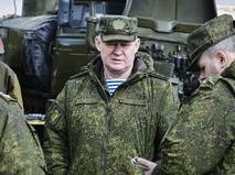 Командующий Воздушно-десантными войсками Андрей Сердюков