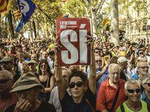 Митинг за независимость Каталонии
