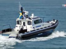 Катер береговой охраны Швеции