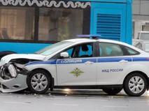 Последствия ДТП с автомобиля полиции