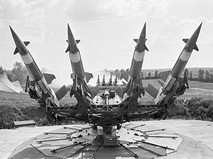 Ракетная установка ПВО. 1984 год