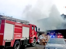 Пожарные и полиция Грузии