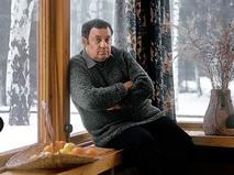 Эльдар Рязанов в своём загородном доме