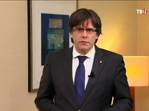 Бывший глава Каталонии Карлес Пучдемон