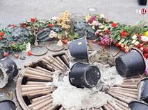 Осквернение Вечного огня в Киеве