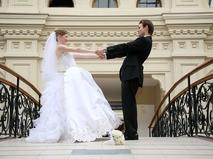 Свадьба. Молодожёны