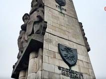 Памятник благодарности Красной армии в городе Щецин в Польше