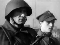 Советский и польский солдат