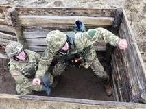 Военнослужащие армии США и Украины