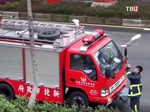 Пожарные в Китае