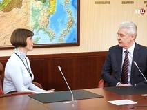 Мэр Москвы Сергей Собянин провёл приём граждан