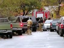 Спецназ полиции Грузии на месте происшествия