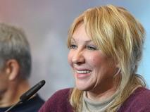 Елена Яковлева на пресс-конференции