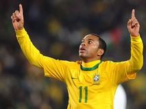 Бразильский футболист Робиньо