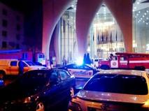 Пожар в гостинице в Батуми
