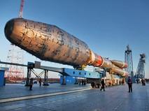 """Ракето-носитель """"Союз 2.1"""" на космодроме """"Восточный"""""""