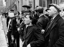 Жители Москвы 22 июня 1941 года