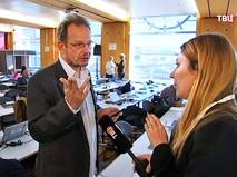 Журналист немецкого телеканала ARD Хайо Зеппельт не хочет давать комментарии