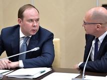 Глава администрации президента РФ Антон Вайно или его первый заместитель Сергей Кириенко