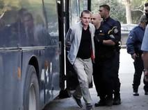 Задержанный в Греции Александр Винник