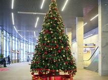 Новогодняя елка в МЦК