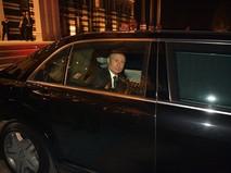 Президент России Владимир Путин после российско-турецких переговоров