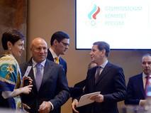 Заседание Олимпийского комитета России