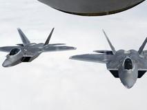 Истребители F-22 Raptor ВВС США